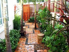 My home garden design- I would love this along the east side of our house. I would include bistro table and chairs.***