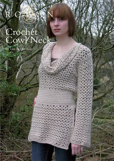 Crochet Cowl Neck in Rowan Cocoon. Discover more Patterns by Rowan at LoveCrochet. We stock patterns, yarn, hooks and books from all of your favorite brands.