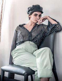 Eco-fashion is a smart idea! Les dames vintage is a modern thrift store that provides vintage-style clothing and accessories for women of all sizes. Vintage Style Outfits, Vintage Fashion, Sheer Blouse, Thrifting, Fashion Outfits, Business, Clothes, Women, Outfit