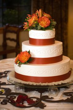 Rustic Country Wedding Cakes | Country rustic, fall wedding cake ideas? - Yahoo! Answers