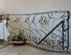 RINGHIERA FERRO BATTUTO . Realizzazioni Personalizzate . 003 Stair Railing, Stairs, Railings, Wrought Iron, Scale, Ebay, Home Decor, Stair Banister, Weighing Scale
