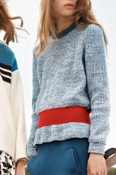 Chloe Resort 2013 sweater //  perfect in every last detail