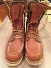 "Red Wing 877 Classic Moc 8"" Boots in Brown Size 12"
