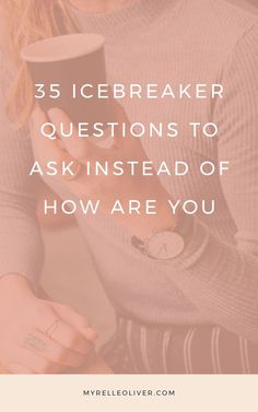 35 Icebreaker Questions to Ask instead of How are You or What do you do? Here are questions to ask to get to know someone better. These are conversation starters you can have with a stranger. Questions To Get To Know Someone, Fun Questions To Ask, Getting To Know Someone, What If Questions, Dating Questions, Icebreaker Questions, This Or That Questions, Interesting Questions To Ask, Funny Questions