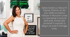 Focus pe artist: Sylwia Synak - Vivre In The Heart, Lettering, Formal Dresses, Face, Beauty, Fashion, Artists, Poland, Dresses For Formal