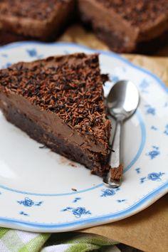 chokladgrädde med blockchoklad