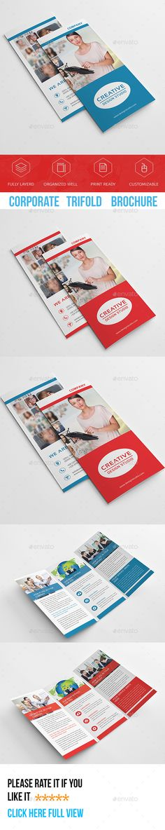 Corporate Trifold Brochure Template PSD. Download here: http://graphicriver.net/item/corporate-trifold-brochure-/16652323?ref=ksioks
