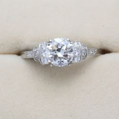 Vintage Style Solitaire | Weldons of Dublin