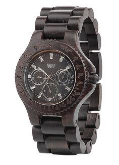 WeWOOD Cygnus Black Eco Friendly Watch. 100% natural wood. $149 WeWOOD New Zealand.