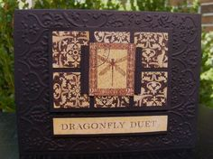 Dragonfly Duet by cards4u - Cards and Paper Crafts at Splitcoaststampers
