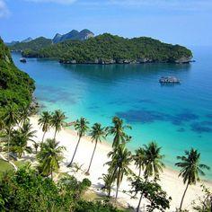 Ang Thong Marine Park, Koh Samui, Thailand
