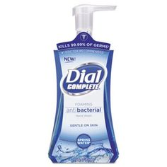 Keep your hands clean and conditioned with Dial Complete hand soap. This foaming antibacterial hand soap kills germs while being gentle on your hands. Mousse, Dial Soap, Foaming Hand Wash, Liquid Hand Soap, Soap Pump, Spring Water, Bottle Packaging, Fragrance Parfum, Hand Washing