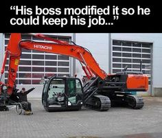 Instead of replacing him, the boss modified his crane so disabled employee could keep his job.