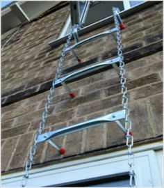 The Safe Escape Ladder is available in 15,foot, 25 foot and 45 foot lengths.