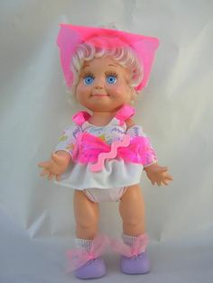 Galoob So Sweet Sandi #1 Baby Face Doll with Original Clothes