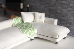 Paper Doll Miniatures: Loft Series: The Sofa