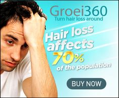 Groei360 will: • Reverse hair thinning and hair loss for Men and Women • Increase the blood circulation of the scalp • Return the imbalanced flora to a natural healthy state • Supply the scalp with the vital nutrients, minerals and anti-oxidants for continued hydration Get Groei360 from http://www.1hairregrowth.com/pd--p-490250-a-0-ex-0-pn-Groei360-Hair-Regrowth-Spray.html