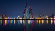 Things to do in Bahrain - go shopping, visit a museum, swim at the water park and then go sky diving indoors NeverStopTraveling Kingdom Of Bahrain, Stuff To Do, Things To Do, Desert Environment, Saint Vincent, Central Bank, Night Photos, Deep Learning, His Travel
