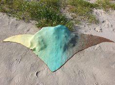 Ein weiteres Tuch aus 8fädigem Garn 850m von Hilke Sell.