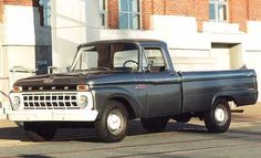 Old pickup trucks.