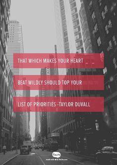 ❤️#love #priorities #livethelifeyoulove #quotes