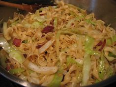 I overcooked the onions and cabbage and it was fine... but also felt the need to add a tiny bit of soy to kick it up a notch.  It's alright overall but kind of bland (even with the bacon).  the saving grace is how crazy easy it is to make.  I thin it would be much better with rice noodles and some more veggies.
