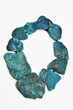 Monies Large Turquoise Necklace » Jewelry » Necklaces » Santa Fe Dry Goods | Clothing and accessories from designers including Issey Miyake, Rundholz, Yoshi Yoshi, Annette Görtz and Dries Van Noten