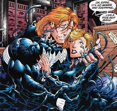 bride of venom | Ann Weying (Venom (Brock)'s ex-wife, formerly She-Venom)
