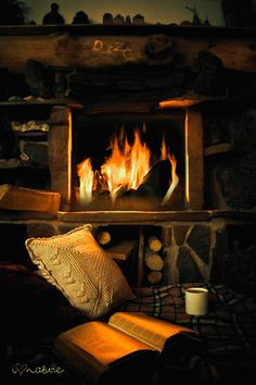 Un petit feu pour vous réchauffer ?  Très belle soirée !