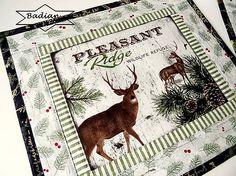 Vianoce v lese ...  No.1 prestieranie 2 ks