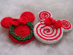 ❄️❄️❄️These are crochet patterns and not the finished items❄️❄️❄️ The christmas ornaments that you can create with these patterns will be about 4,7 inches (9 cm) high and 3,7 inches (8 cm) wide. 🎄🎄🎄 The patterns come with easy to follow written instructions in English (US terms)