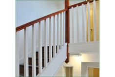 Rowangate Staircase Timber Handrail, Stair Spindles, Banisters, Newel Posts, Glass Panels, Stairs, Natural, Home Decor, Stair Railing