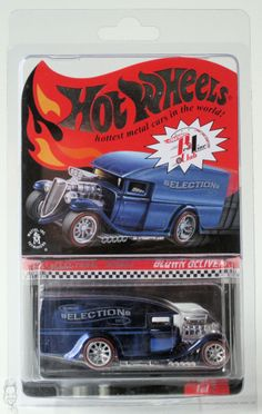 2011 Hot Wheels RLC Selections Series  Blown Delivery