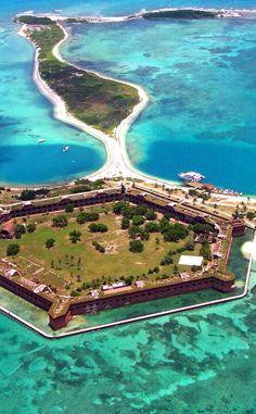 Dry Tortugas National Park is a Beach in Key West. Plan your road trip to Dry Tortugas National Park in FL with Roadtrippers. Dry Tortugas, Vacation Ideas, Vacation Trips, Vacation Spots, Travel Trip, Key West Florida, Florida Keys, Fl Keys, South Florida