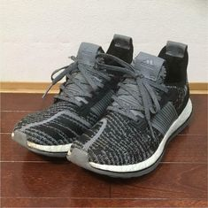 beb44f4d9 Men 7.5Us Adidas Pure Boost Gray Black cm  fashion  clothing  shoes   accessories  mensshoes  athleticshoes (ebay link)