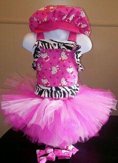 National Pageant Casual Wear Dress Boutique Hello Kitty Tutu 18mos-3t #Handmade #DressyEverydayHoliday