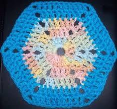 granny square/circle/hexagon crochet free patterns - Google Search