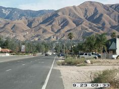 Highland, CA : Highland, Californina - Palm and 5th Street Looking North - Sep 2004  Where I lived as a young teenager.