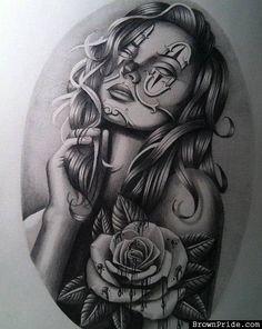 Classic Chicano Art Work Alec Rodriguez