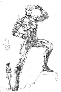 Unused Booster Gold design by Brett Booth