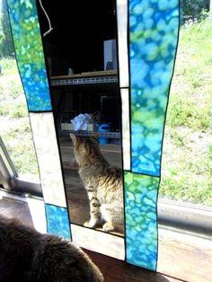 鏡   ステンドグラス屋