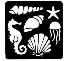 Shells svg file cutting template beach clip art for commercial personal use vector art file - Pochoir gratuit a imprimer ...