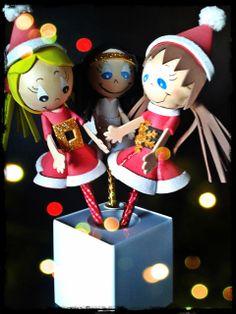 fofulápices navideñas