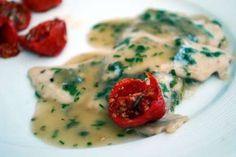 Scaloppine alle erbe aromatiche con pomodori confit, Ricetta da Marellla - Petitchef