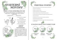 Program, Journal, Words, Wedding, Valentines Day Weddings, Weddings, Marriage, Horse, Chartreuse Wedding