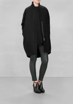 & Other Stories   Wool-Blend Coat  [is in my closet now]