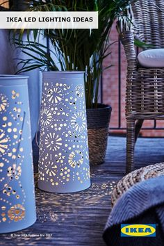 Make memories brighter, softer, warmer and longer lasting with IKEA LED lighting for the indoors and out! Find more ideas and learn about the design power of LED in our Spring Refresh Guide.