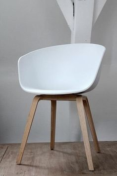 HAY about a chair AAC22 - wit - PURE Wood Design