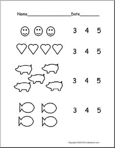 Printable Pre K Worksheets 3   Daisy   Pinterest ...
