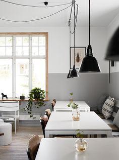 my scandinavian home: Ten steps to a half painted wall